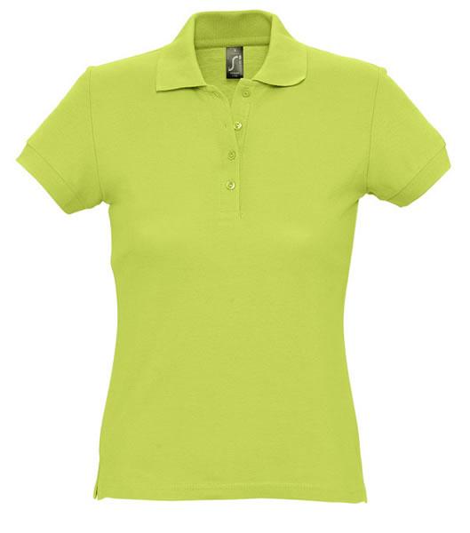 Koszulki Polo Ladies S 11338 PASSION 170 - 11338_apple_green_S - Kolor: Apple green