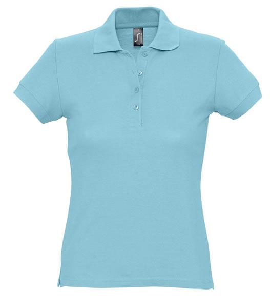 Koszulki Polo Ladies S 11338 PASSION 170 - 11338_atoll_blue_S - Kolor: Atoll blue
