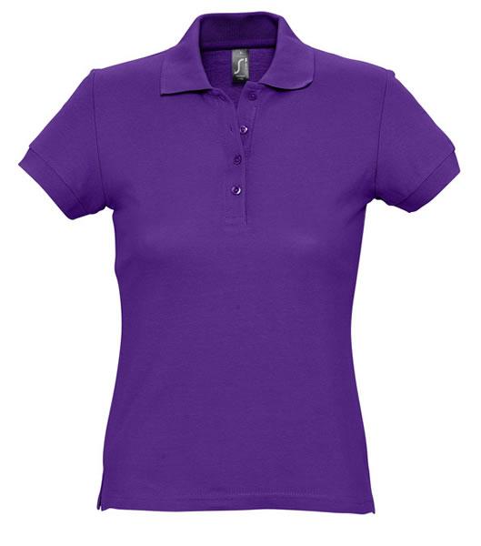Koszulki Polo Ladies S 11338 PASSION 170 - 11338_dark_purple_S - Kolor: Dark purple