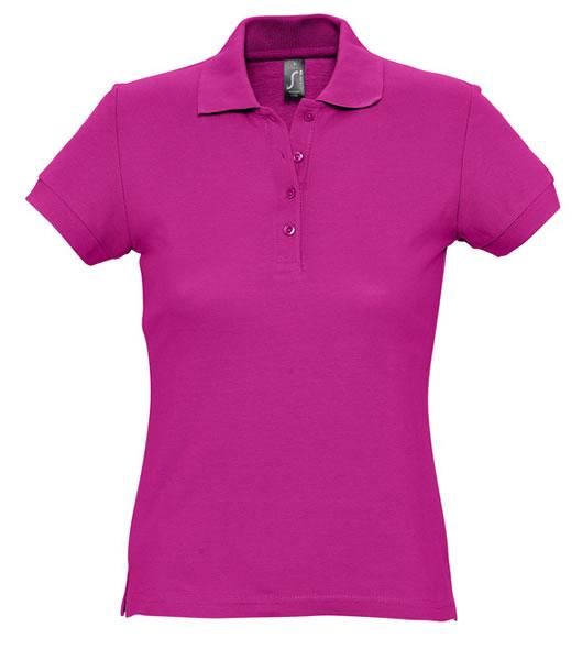 Koszulki Polo Ladies S 11338 PASSION 170 - 11338_fuchsia_S - Kolor: Fuchsia