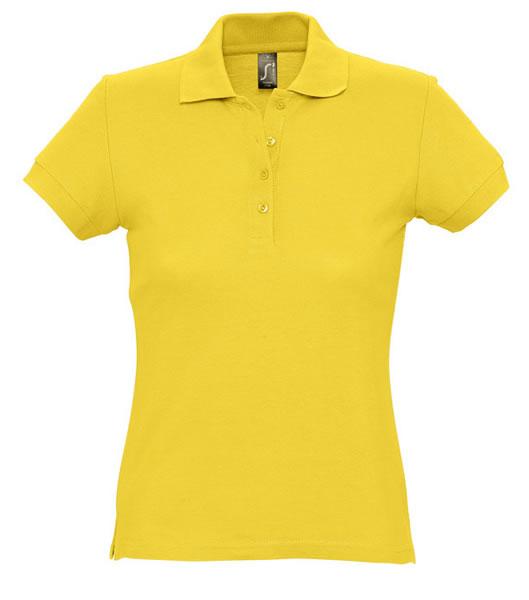 Koszulki Polo Ladies S 11338 PASSION 170 - 11338_gold_S - Kolor: Gold