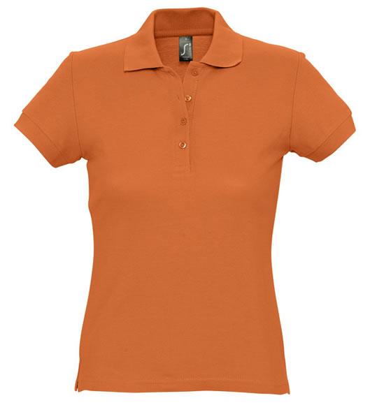 Koszulki Polo Ladies S 11338 PASSION 170 - 11338_orange_S - Kolor: Orange