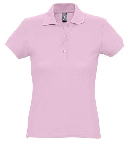 Koszulki Polo Ladies S 11338 PASSION 170 - 11338_pink_S - Kolor: Pink