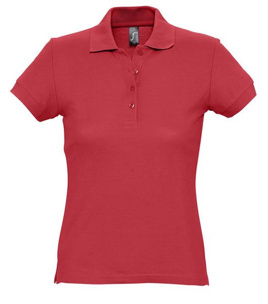 Koszulki Polo Ladies S 11338 PASSION 170 - 11338_red_S - Kolor: Red