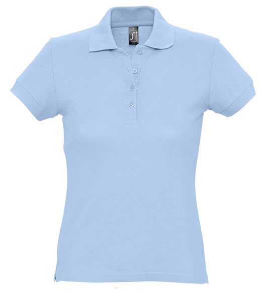 Koszulki Polo Ladies S 11338 PASSION 170 - 11338_sky_blue_S - Kolor: Sky blue