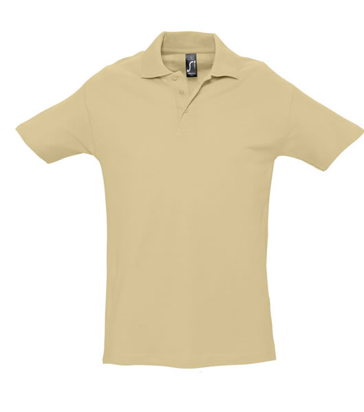 Koszulki Polo S 11342 SUMMER II 170 - 11342_sand_S - Kolor: Sand