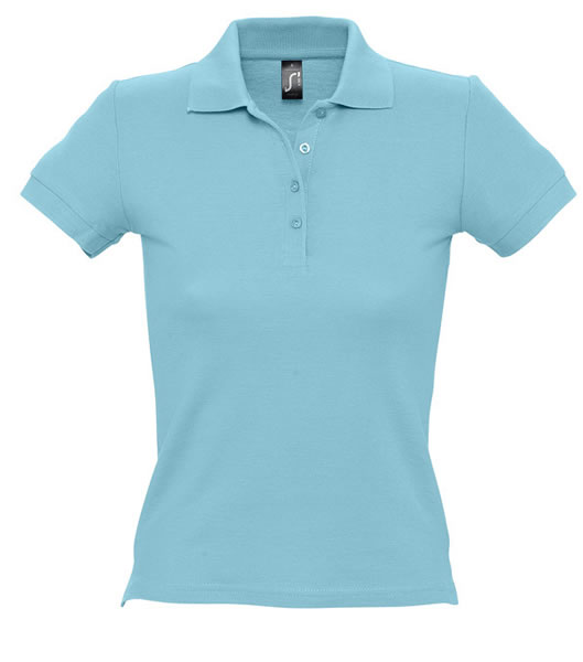 Koszulki Polo Ladies S 11310 PEOPLE 210 - 11310_atoll_blue_S - Kolor: Atoll blue
