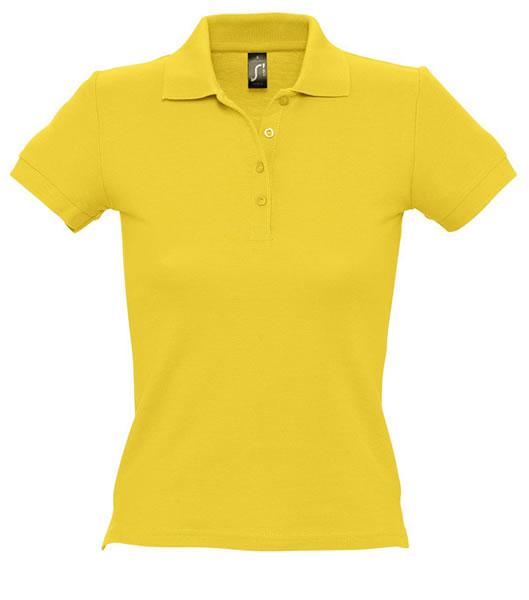 Koszulki Polo Ladies S 11310 PEOPLE 210 - 11310_gold_S - Kolor: Gold