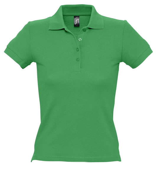Koszulki Polo Ladies S 11310 PEOPLE 210 - 11310_kelly_green_S - Kolor: Kelly green