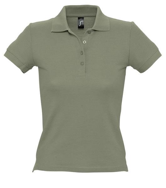 Koszulki Polo Ladies S 11310 PEOPLE 210 - 11310_khaki_S - Kolor: Khaki