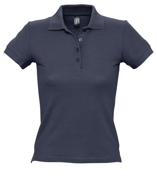 Koszulki Polo Ladies S 11310 PEOPLE 210 - 11310_navy_S - Kolor: Navy