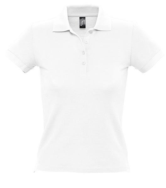Koszulki Polo Ladies S 11310 PEOPLE 210 - 11310_white_S - Kolor: White
