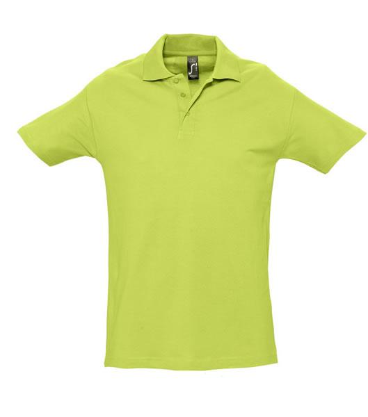 Koszulki Polo S 11362 SPRING II 210 - 11362_apple_green_S - Kolor: Apple green