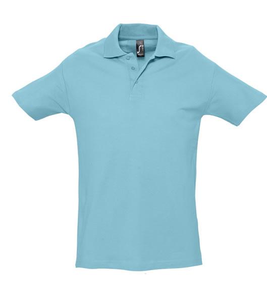 Koszulki Polo S 11362 SPRING II 210 - 11362_atoll_blue_S - Kolor: Atoll blue