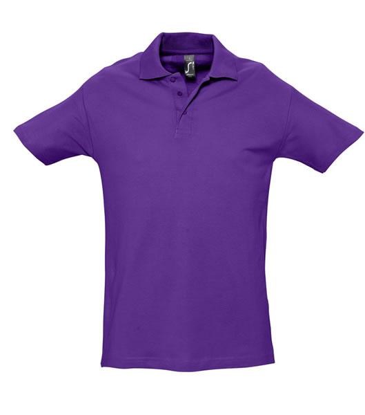 Koszulki Polo S 11362 SPRING II 210 - 11362_dark_purple_S - Kolor: Dark purple