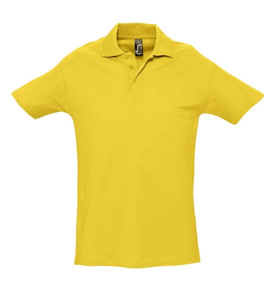 Koszulki Polo S 11362 SPRING II 210 - 11362_gold_S - Kolor: Gold