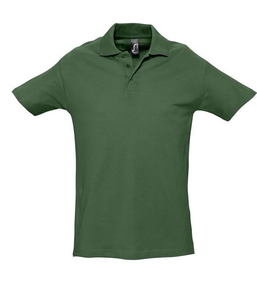 Koszulki Polo S 11362 SPRING II 210 - 11362_golf_green_S - Kolor: Golf green