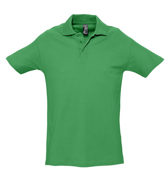 Koszulki Polo S 11362 SPRING II 210 - 11362_kelly_green_S - Kolor: Kelly green