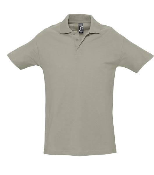 Koszulki Polo S 11362 SPRING II 210 - 11362_khaki_S - Kolor: Khaki