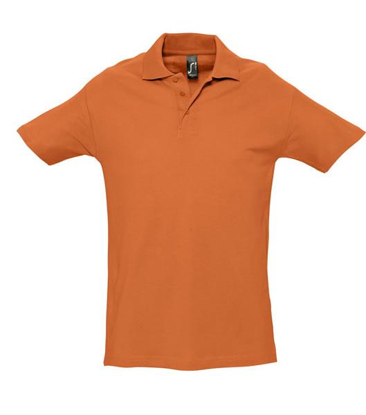 Koszulki Polo S 11362 SPRING II 210 - 11362_orange_S - Kolor: Orange