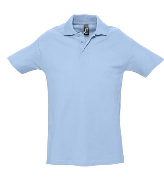 Koszulki Polo S 11362 SPRING II 210 - 11362_sky_blue_S - Kolor: Sky blue