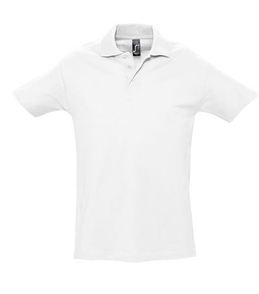 Koszulki Polo S 11362 SPRING II 210 - 11362_white_S - Kolor: White