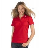 Koszulki Polo Ladies S 11366 PRACTICE WOMEN 270 - 11366_red_white_S Red / White