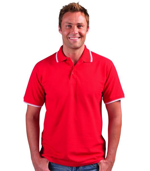Koszulki Polo S 11365 PRACTICE 270 - 11365_red_white_S - Kolor: Red / White
