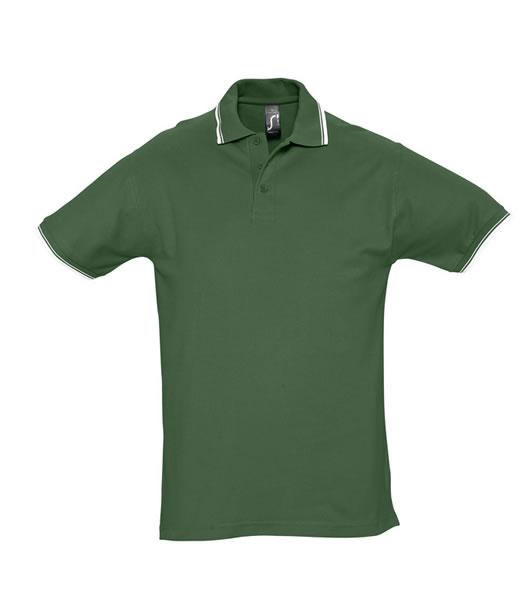 Koszulki Polo S 11365 PRACTICE 270 - 11365_golfgreen_white_S - Kolor: Golf green / White
