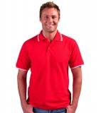Koszulki Polo S 11365 PRACTICE 270 - 11365_red_white_S Red / White