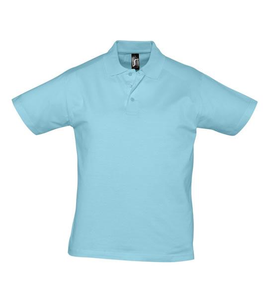 Koszulki Polo S 11377 PRESCOTT MEN 170 - 11377_atoll_blue_S - Kolor: Atoll blue