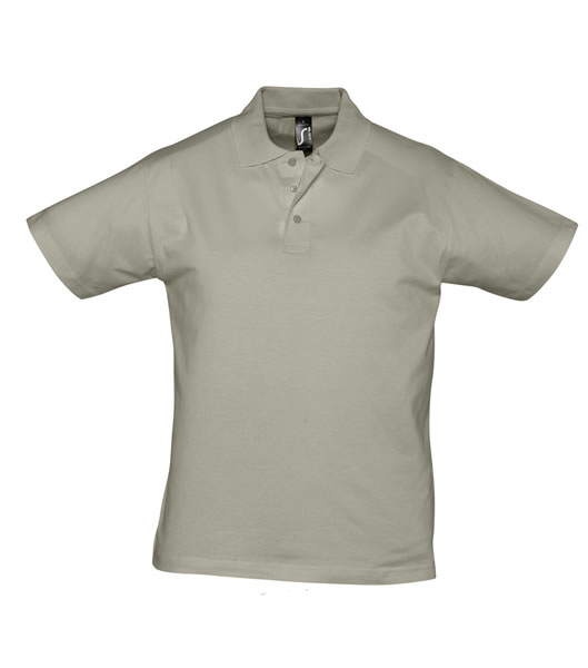Koszulki Polo S 11377 PRESCOTT MEN 170 - 11377_khaki_S - Kolor: Khaki