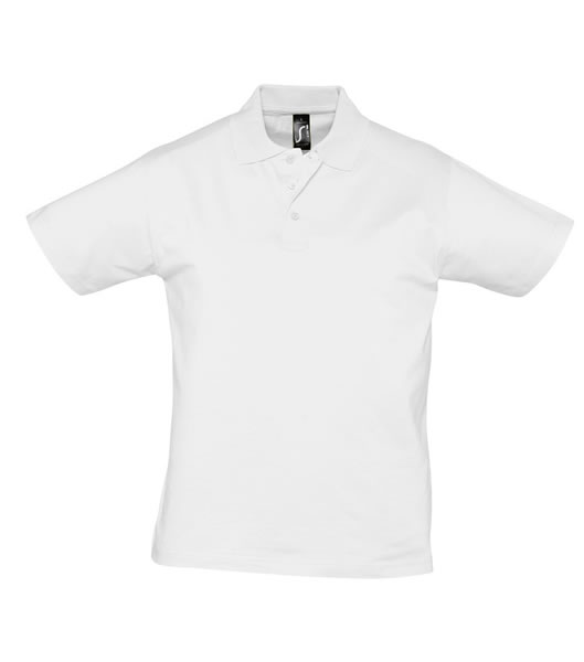 Koszulki Polo S 11377 PRESCOTT MEN 170 - 11377_white_S - Kolor: White