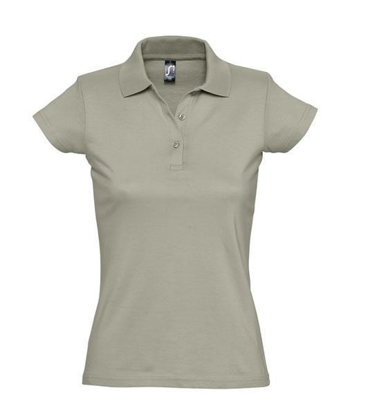 Koszulki Polo Ladies S 11376 PRESCOTT WOMEN 170 - 11376_khaki_S - Kolor: Khaki