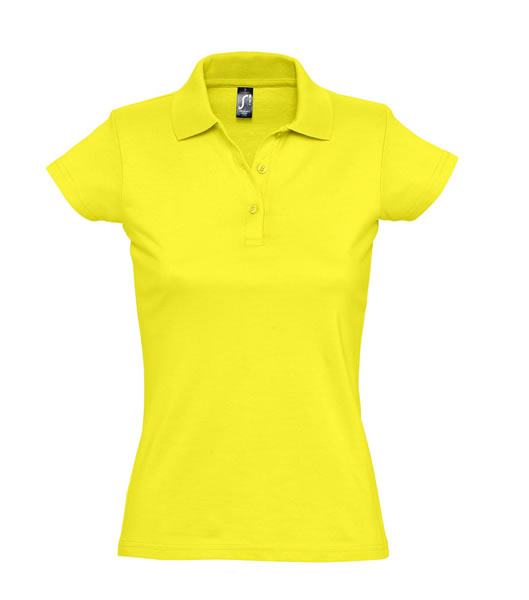 Koszulki Polo Ladies S 11376 PRESCOTT WOMEN 170 - 11376_lemon_S - Kolor: Lemon