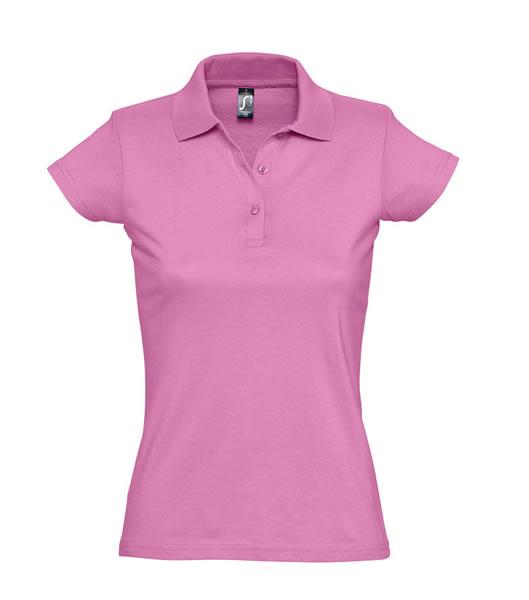 Koszulki Polo Ladies S 11376 PRESCOTT WOMEN 170 - 11376_orchi_pink_S - Kolor: Orchid pink