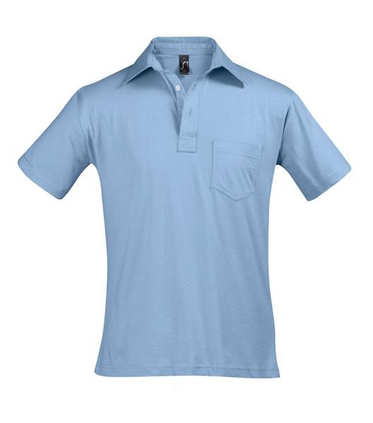 Koszulki Polo S 11312 PARITY 150 - 11312_sky_blue_S - Kolor: Sky blue