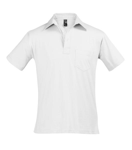 Koszulki Polo S 11312 PARITY 150 - 11312_white_S - Kolor: White