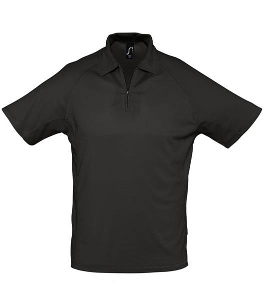 Koszulki Polo S 11977 PLAYER 160 - 11977_black_S - Kolor: Black