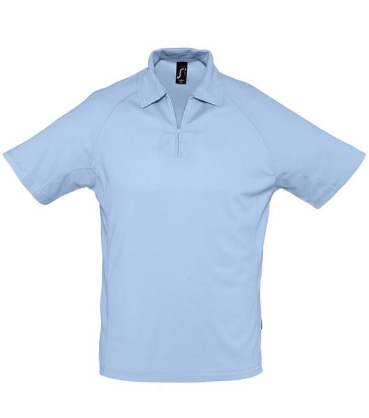 Koszulki Polo S 11977 PLAYER 160 - 11977_sky_blue_S - Kolor: Sky blue