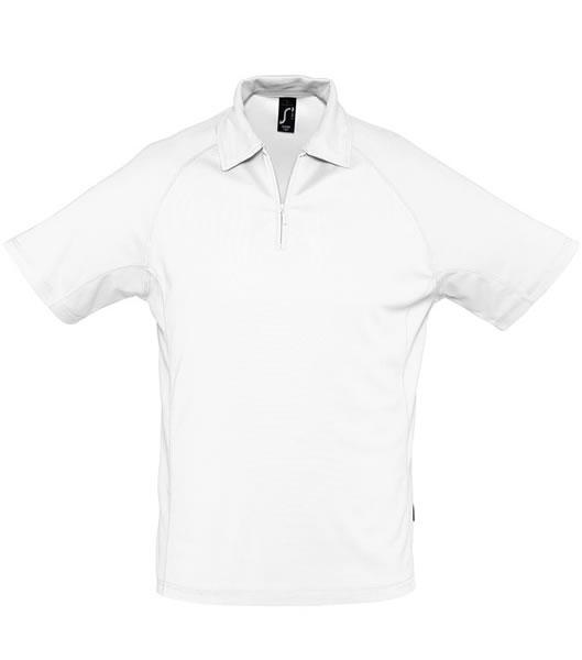 Koszulki Polo S 11977 PLAYER 160 - 11977_white_S - Kolor: White