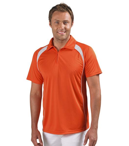 Koszulki Polo S 11418 PALLADIUM 140 - 11418_orange_white_S - Kolor: Orange / White