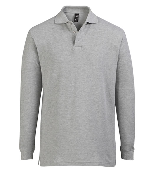 Koszulki Polo S 11328 STAR 170 - 11328_grey_melange_S - Kolor: Grey melange