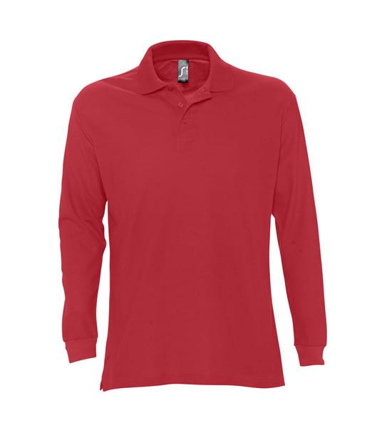 Koszulki Polo S 11328 STAR 170 - 11328_red_S - Kolor: Red