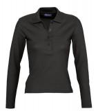 Koszulki Polo Ladies S 11317 PODIUM 210 - 11317_black_S Black