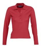 Koszulki Polo Ladies S 11317 PODIUM 210 - 11317_red_S Red