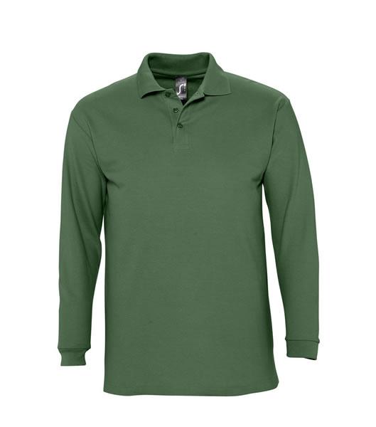 Koszulki Polo S 11353 WINTER II 210 - 11353_golf_green_S - Kolor: Golf green