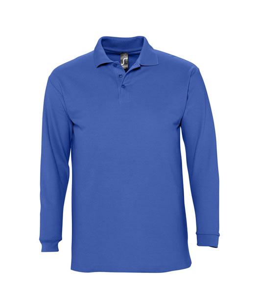 Koszulki Polo S 11353 WINTER II 210 - 11353_royal_blue_S - Kolor: Royal blue