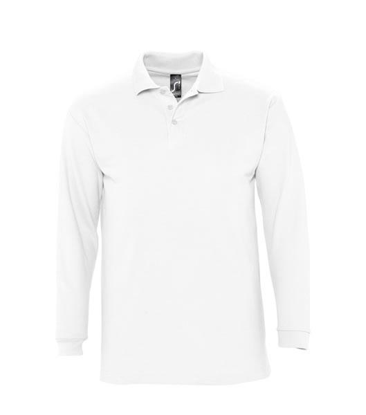 Koszulki Polo S 11353 WINTER II 210 - 11353_white_S - Kolor: White