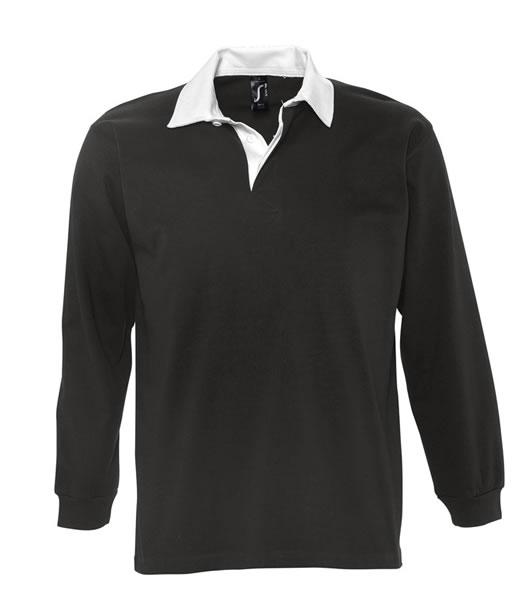 Koszulki Polo S 11313 PACK 280 - 11313_black_white_S - Kolor: Black / White